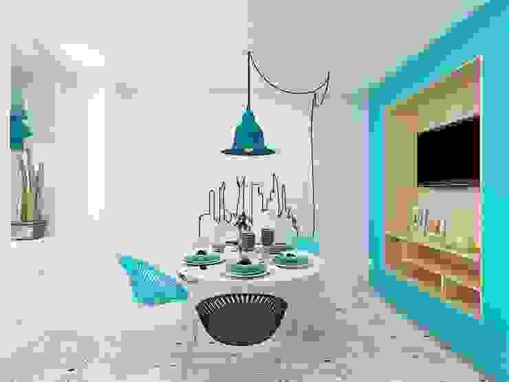 Cozinhas  por Дизайн студия Марины Геба