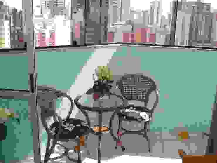 Residência Águas Claras/DF Varandas, alpendres e terraços ecléticos por Donakaza Eclético