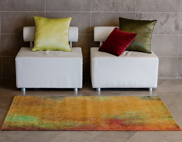 Sole e allegria Reevèr One Home Ingresso, Corridoio & Scale in stile moderno Arancio