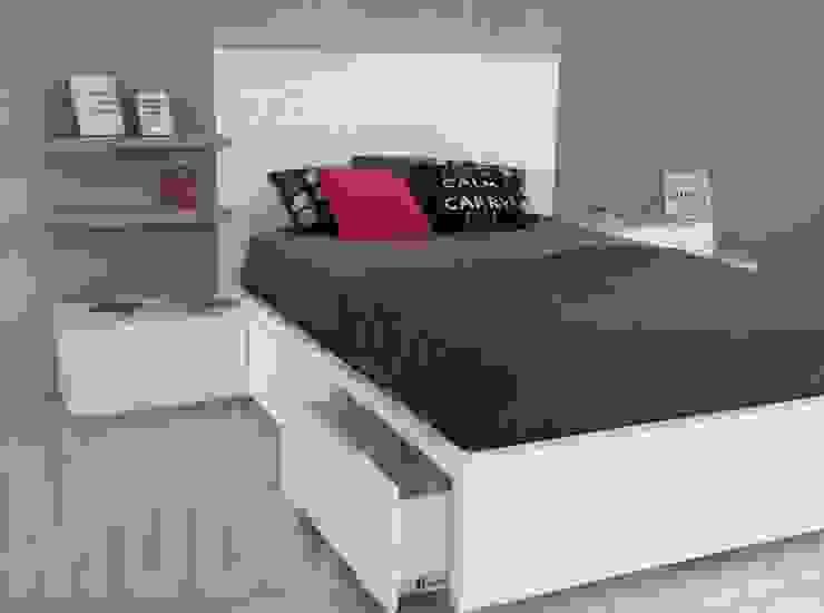 Camera da letto minimalista di homify Minimalista