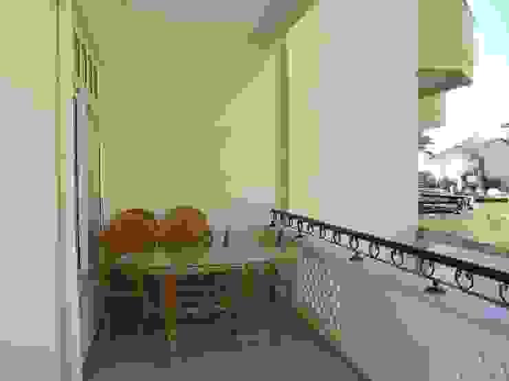 Alanya Sun Life Akdeniz Balkon, Veranda & Teras Alanya Sunlife Real Estate & Constructions Akdeniz
