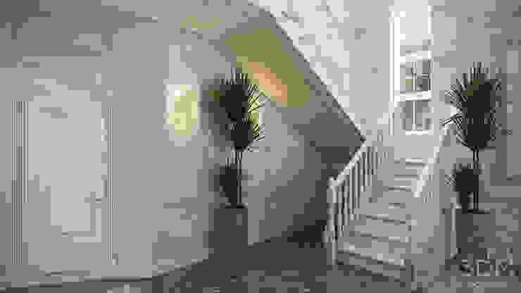 Classic style corridor, hallway and stairs by студия визуализации и дизайна интерьера '3dm2' Classic