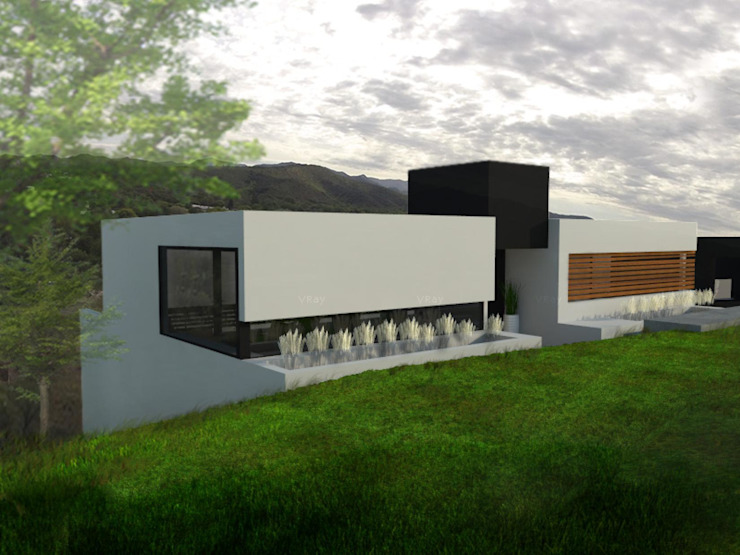 Modern houses by GANDIA ARQUITECTOS Modern Stone