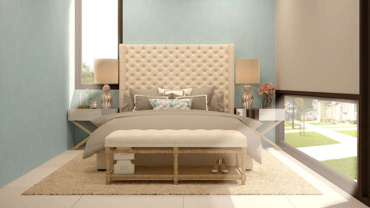 Bedroom by CONTRASTE INTERIOR,