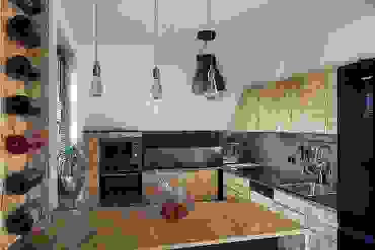 Cocinas de estilo  por kreARTywni_ studio projektowe