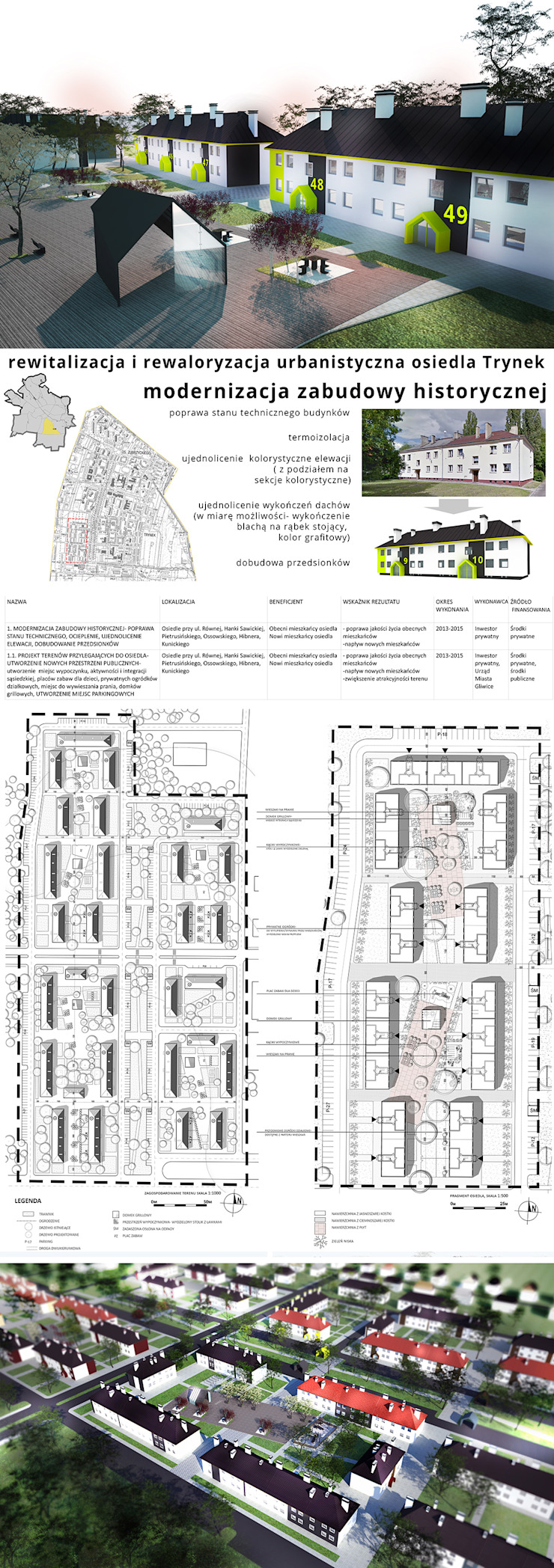 Casas modernas de kreARTywni_ studio projektowe Moderno