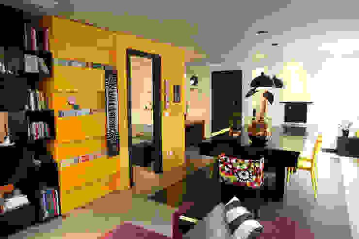 Fabiana Rosello Arquitetura e Interiores의  다이닝 룸, 에클레틱 (Eclectic)