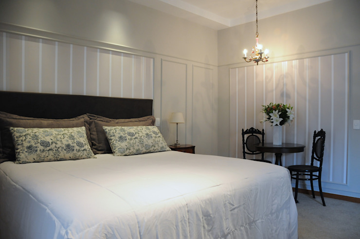 Chambre classique par Clô Vieira Design de Interiores Classique
