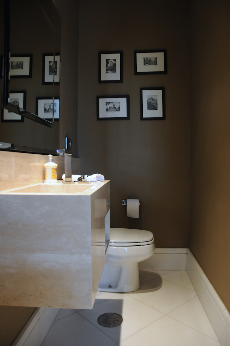 Lavabo Morumbi Banheiros clássicos por Clô Vieira Design de Interiores Clássico