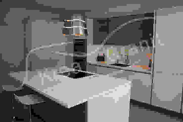 Cocinas de estilo moderno de KREA Granit- Mutfak Banyo Tezgahları Moderno