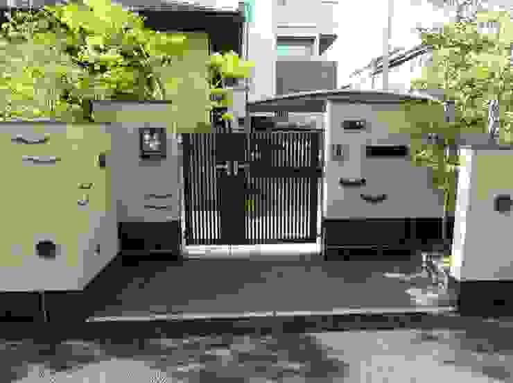 エントランス オリジナルな 庭 の 木村博明 株式会社木村グリーンガーデナー オリジナル
