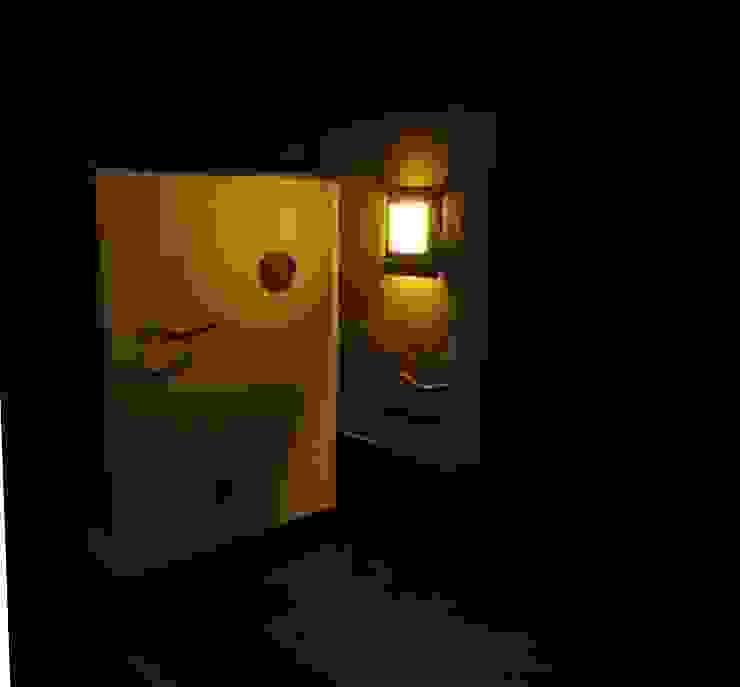 瓦の照明(点灯時) オリジナルな 庭 の 木村博明 株式会社木村グリーンガーデナー オリジナル