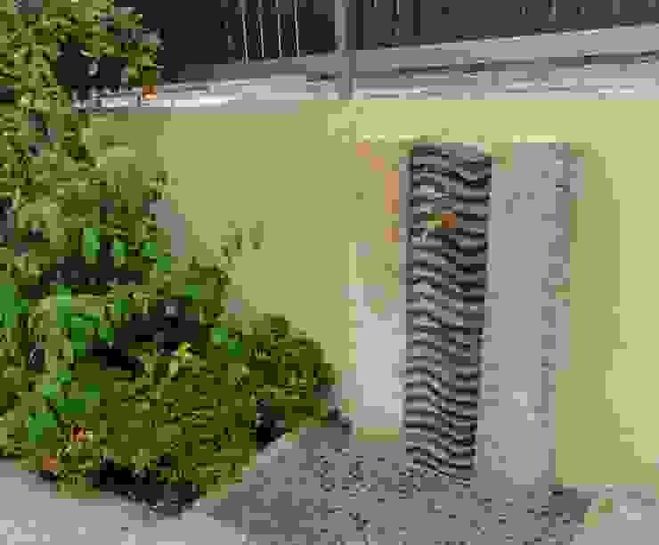 瓦の立水栓 オリジナルな 庭 の 木村博明 株式会社木村グリーンガーデナー オリジナル