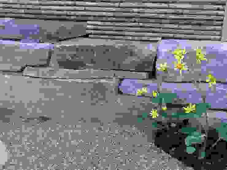 小端積み オリジナルな 庭 の 木村博明 株式会社木村グリーンガーデナー オリジナル