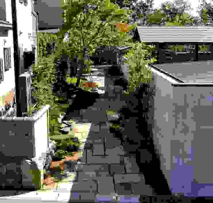 外路地全景 オリジナルな 庭 の 木村博明 株式会社木村グリーンガーデナー オリジナル
