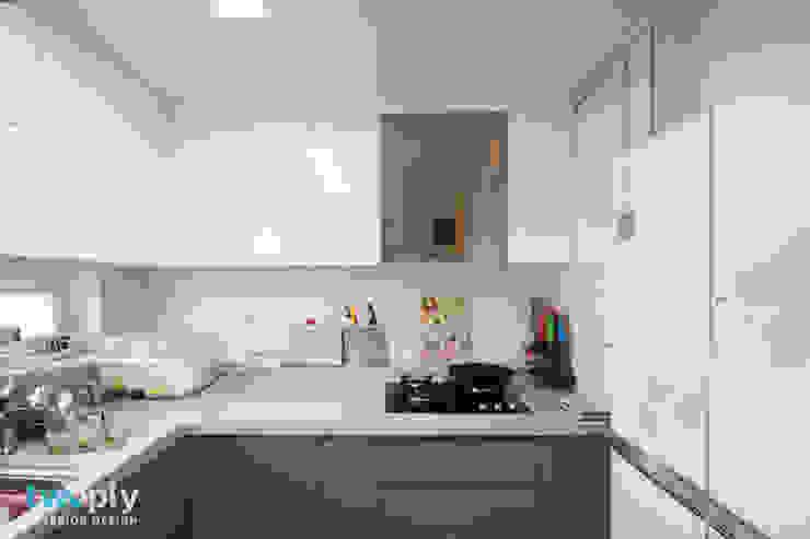 Modern Kitchen by 디자인투플라이 Modern