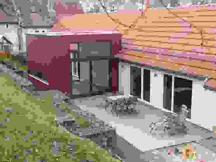 Eklektyczne domy od kg5 architekten Eklektyczny