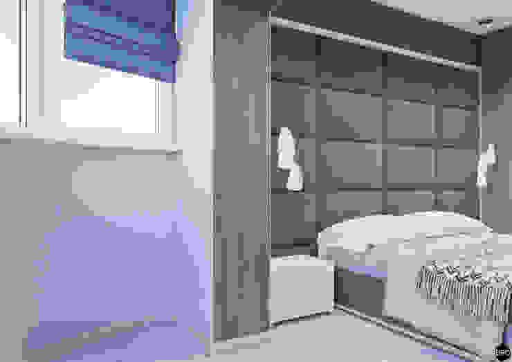 3-к квартира для молодой семьи Балкон и терраса в стиле минимализм от BRO Design Studio Минимализм