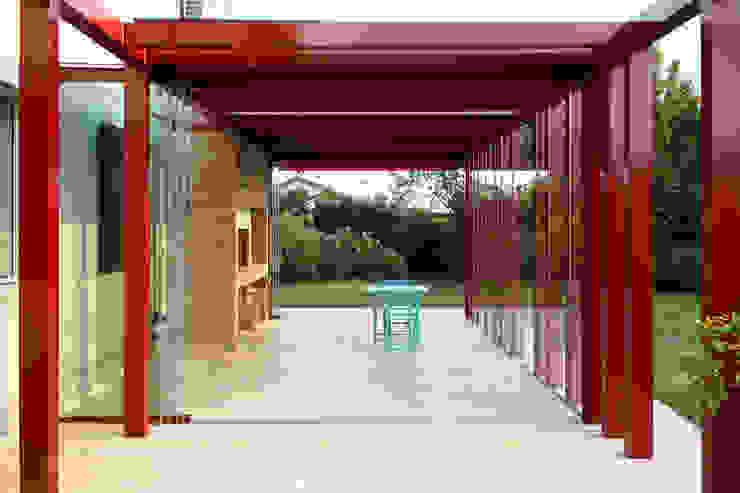 Jardines de invierno minimalistas de Riccardo Bandera Architetto Minimalista