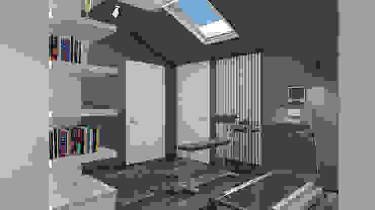 Salle de sport minimaliste par Архитектурная мастерская 'SOWA' Minimaliste