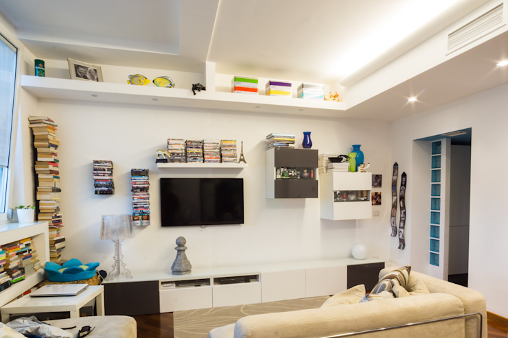 Ruang Keluarga Modern Oleh CA'MI design Modern