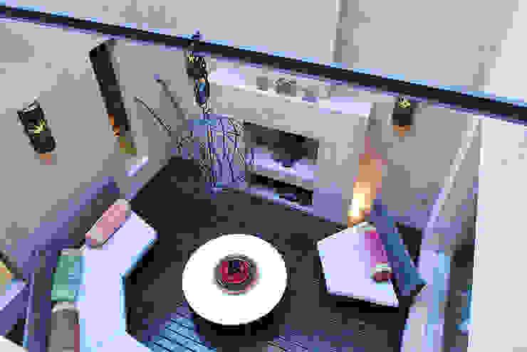 GALERIA Moderne Wohnzimmer von JUNOR ARQUITECTOS Modern