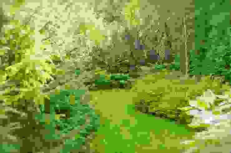 Classic style garden by Pracownia Projektowa Architektury Krajobrazu Januszówka Classic