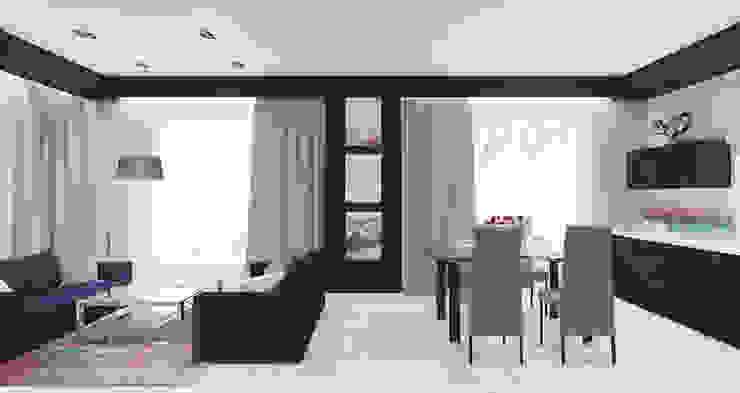 Salas de estilo minimalista de Архитектурная мастерская 'SOWA' Minimalista