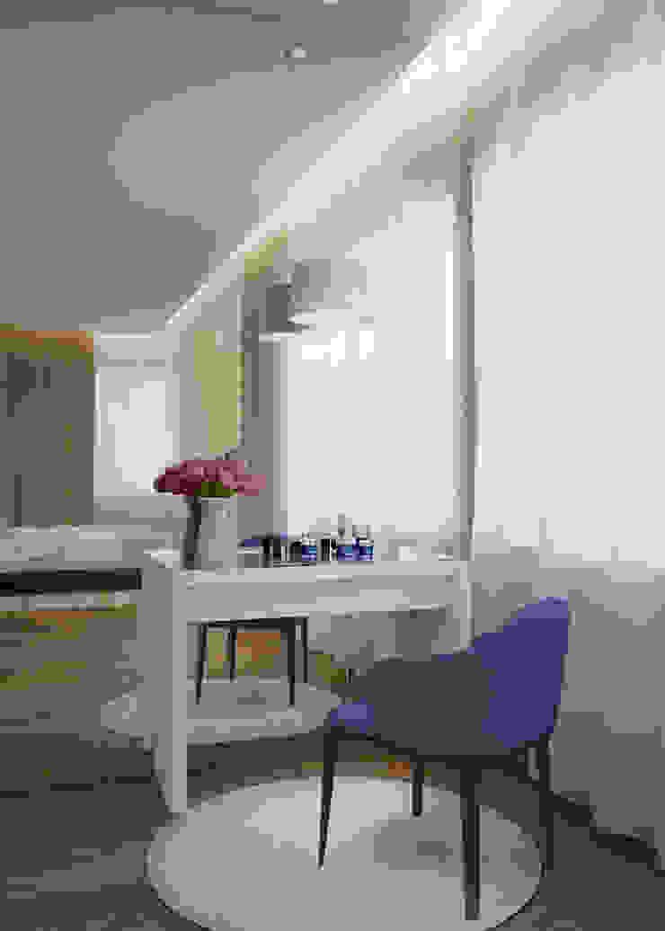 Chambre minimaliste par Архитектурная мастерская 'SOWA' Minimaliste