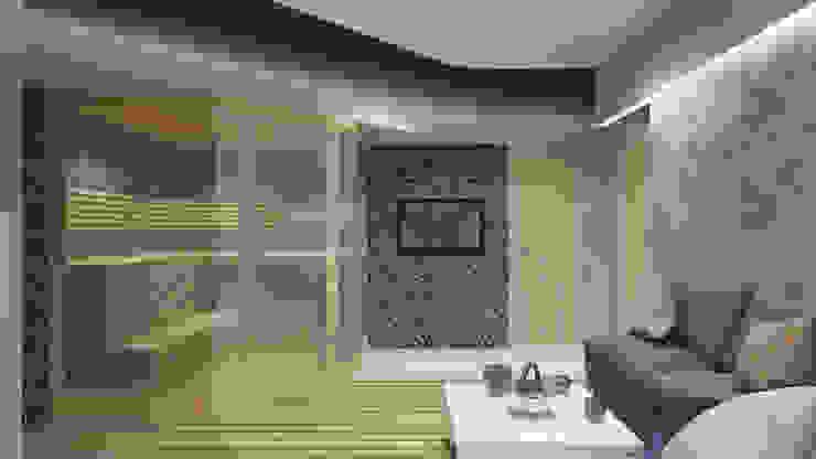 Spa minimalistas de Архитектурная мастерская 'SOWA' Minimalista