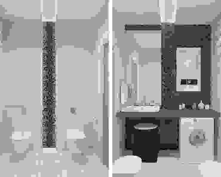 Salle de bain minimaliste par Архитектурная мастерская 'SOWA' Minimaliste