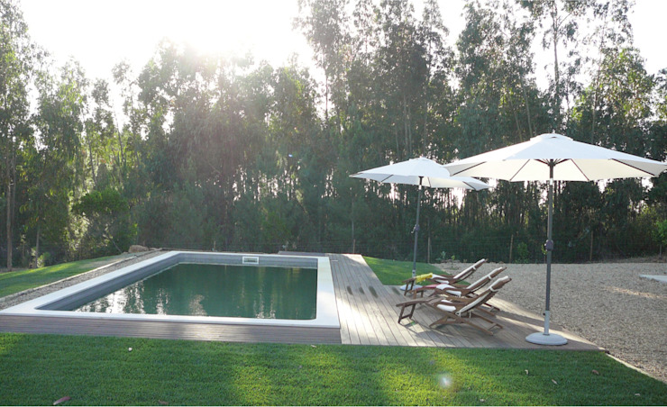 Pool by LAVRADIO DESIGN, Rustic
