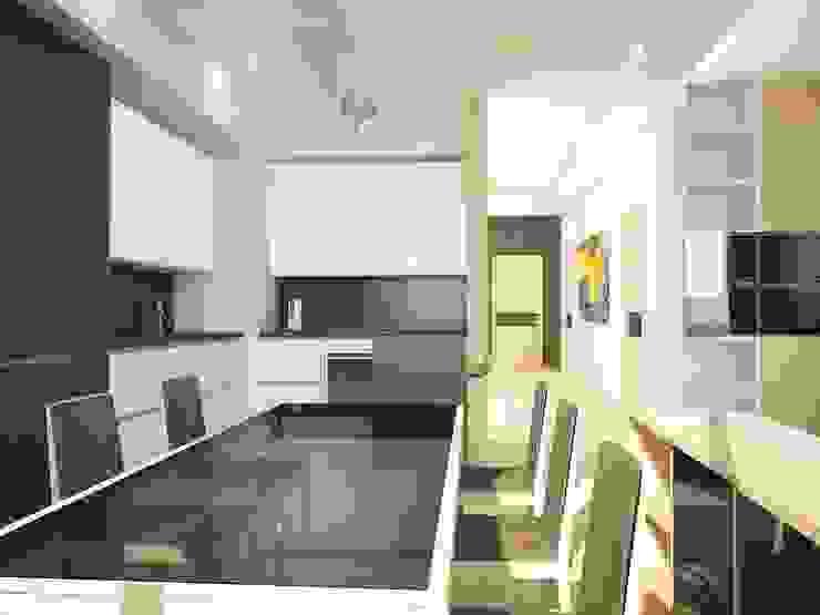 Авеню 77-2 Кухня в стиле лофт от ООО 'Студио-ТА' Лофт