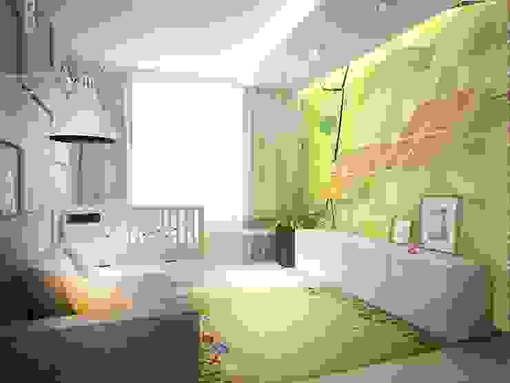 Авеню 77-2 Детская комната в стиле лофт от ООО 'Студио-ТА' Лофт
