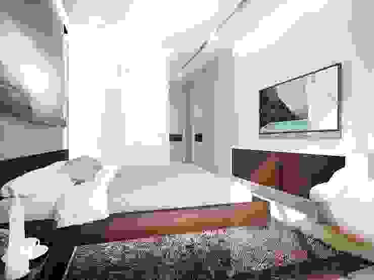 Авеню 77-2 Спальня в стиле лофт от ООО 'Студио-ТА' Лофт