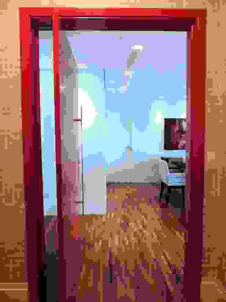 Seja bem vindo! Corredores, halls e escadas modernos por Adriana Pierantoni Arquitetura & Design Moderno