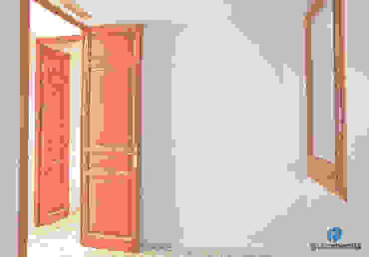Dormitorio Dormitorios de estilo rústico de Grupo Inventia Rústico Madera Acabado en madera