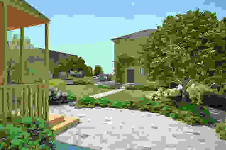 Дизайн сада в пейзажном стиле. Сад в стиле кантри от Руслан Михайлов rmgarden Кантри