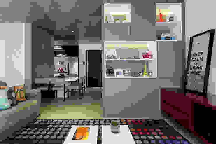 Гостиная в . Автор – Adriana Pierantoni Arquitetura & Design, Модерн