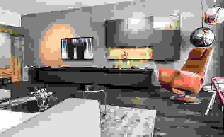 Salones modernos de IBOD Wand & Boden Moderno