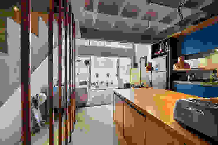 Cocinas de estilo  por Casa100 Arquitetura