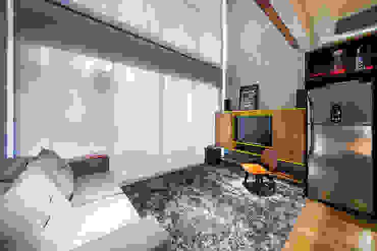 Salas / recibidores de estilo  por Casa100 Arquitetura