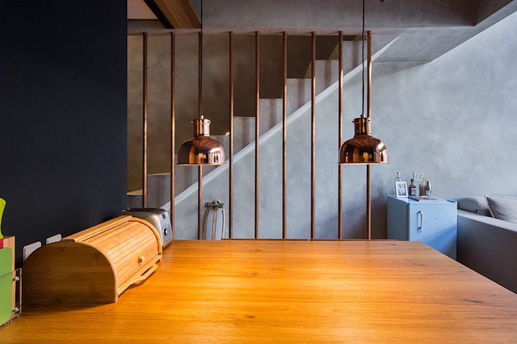 Comedores de estilo  por Casa100 Arquitetura