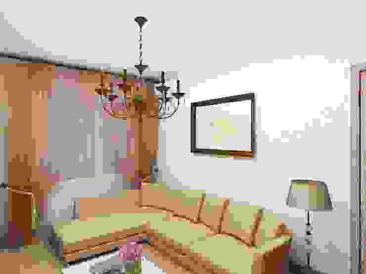 Современный облик квартиры с классическими элементами Спальня в классическом стиле от Дизайн студия Марины Геба Классический