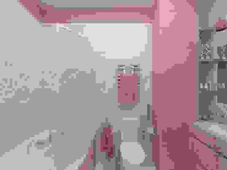 Современный облик квартиры с классическими элементами Ванная в классическом стиле от Дизайн студия Марины Геба Классический