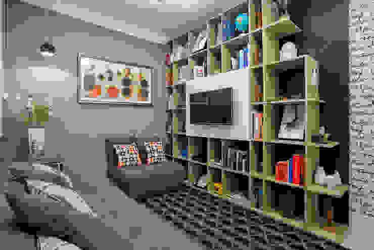 Chambre de style  par Adriana Pierantoni Arquitetura & Design, Éclectique