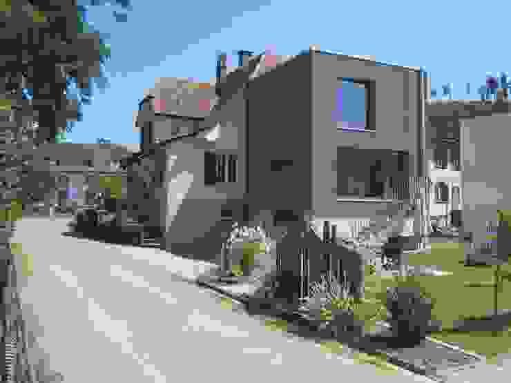 Anbau Wohnhaus Brauen & Partner Architektur GmbH Moderne Häuser Holz Grau