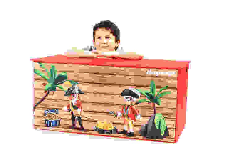 Coffre à jouets Playmobil PIRATES par IMPEX - My Note Deco Moderne