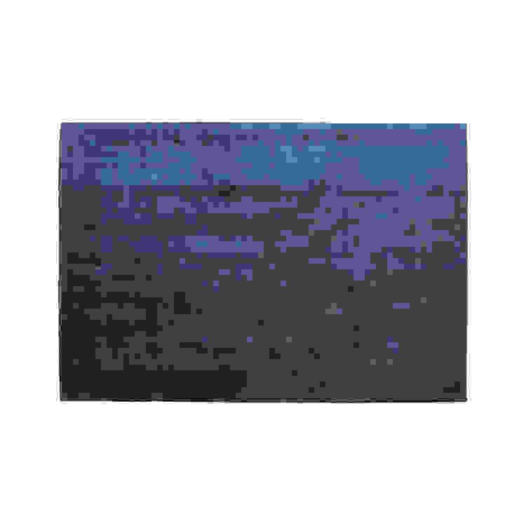 Rug GOOD Dark Blue por Korkrugs Moderno