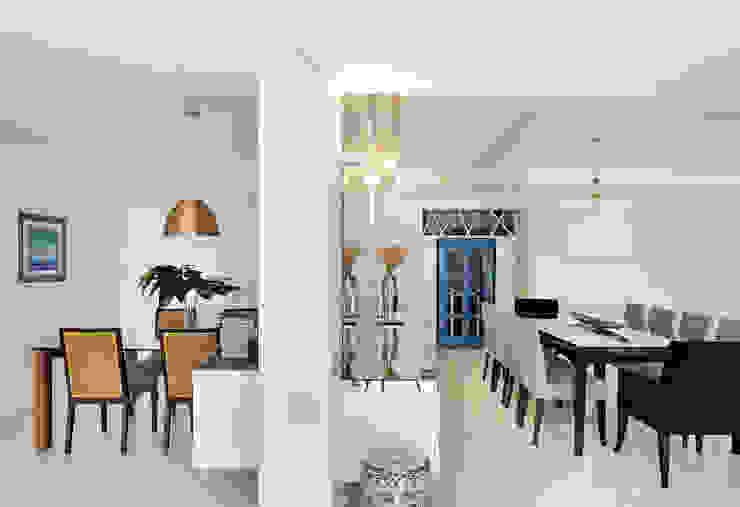 Thaisa Camargo Arquitetura e Interiores Modern dining room